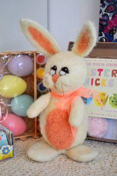 Needle Felt Easter Bunny