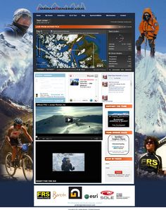 Great custom Wordpress site for Jordan Romero - youngest person to climb the highest peak on all 7 continents (including Everest) at the age of 15 now.  This site pulls in a custom app used to track them on their most recent climb, social media, video, list building, sponsorship and more.  Built by http://webdev123.com