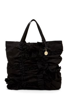 RED Valentino Ruched Handbag <3 #black
