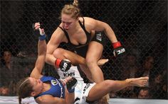 RONDA ROUSEY ufc mma mixed martial sexy babe blonde extreme fight Home Decoration Canvas Poster