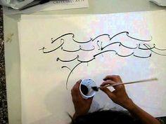 LOVEEEEE this lettering! Kudos to Monica Dengo Calligrafia