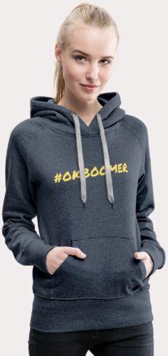 Ihana naisten premium huppari yksinkertaisella, mutta tymäkällä tekstillä! Tilaa linkistä ja juuri sinulle painatettu paita saapuu muutamassa työpäivässä! Hoodies, Sweaters, Fashion, Moda, Sweatshirts, Fashion Styles, Parka, Sweater, Fashion Illustrations