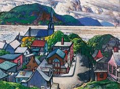 View Bagotville By Marc-Aurèle Fortin; casein on board; 91 by 122 cm. Access more artwork lots and estimated & realized auction prices on MutualArt. Canadian Painters, Canadian Artists, Montreal Museums, Nature Sketch, Soul Art, Watercolor Landscape, Watercolor Ideas, Museum Of Fine Arts, City Art