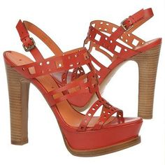 Women's VIA SPIGA Gwena Red Shoes.com