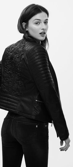 To acquire Wear you Trendswould a quilted biker jacket pictures trends