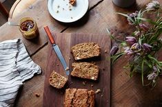 Healthy Breakfast Bread with Seeds, Almonds, and Figs Recipe on Food52