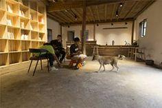 Papa's Hostel , Lishui, 2015 - He Wei Studio/3andwich design