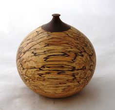 hand turned Bowl or cremation Urn made of by TreesInsideOut, €150.00