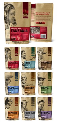 Fair Trade Coffee from level ground trading company - fantastic quality, perfectly roasted and a well run fair trade org