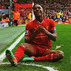 Raheem Sterling of Liverpool Liverpool Players, Liverpool Football Club, Liverpool Fc, Football Team, Raheem Sterling, You'll Never Walk Alone, Premier League, Fifa