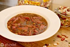 Put a new twist on #StPatricksDay with this #Recipe for 15 Bean Corned Beef Stew! #HurstBeans #CrockPot