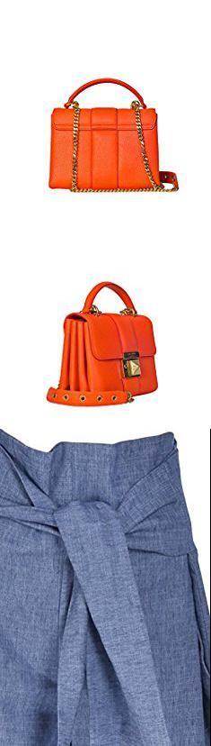 Sonia Rykiel Bags. Sonia Rykiel Women's 5712411318890 Orange Leather Handbag.  #sonia #rykiel #bags #soniarykiel #rykielbags