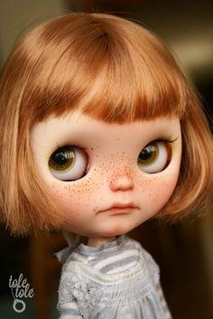 Aria Tolé Tolé custom Blythe doll by ToleTole on Etsy