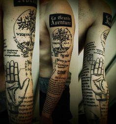 Men's Creative Tattoos