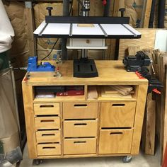 """Shop project I built about 2 year ago. Really helps with organization."" -Ken A."