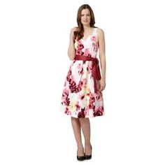 The Collection Pale yellow garden party prom dress- at Debenhams.com