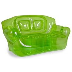 Green Inflatable Couch for TWO!