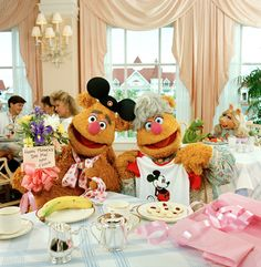 Vintage Muppets ~ neat photo! WDW Grand Floridian Hotel