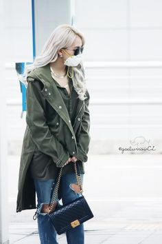 incheon airport #CL 옆모습도 이뻥..                                                                                                                                                                                 More