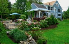 Landscaping is a great way to update the outside of your home.