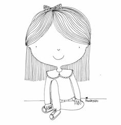 Doodle Drawings, Cute Drawings, Stick Family, Doodle Inspiration, Drawing Projects, Kids Patterns, Cute Doodles, Black And White Illustration, Pattern Illustration