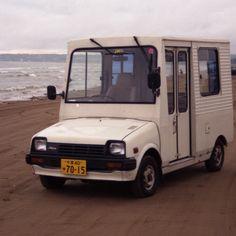 DAIHATSU Mira walkthrough van - Keijidosha - Kei Car