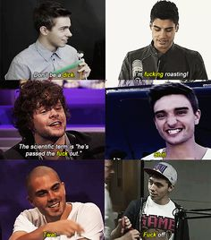 the wanted. being the wanted :)