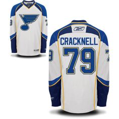 50e931301 St. Louis Blues 79 Adam Cracknell Road Jersey - White  St. Louis Blues  Hockey Jerseys 069  -  50.95   Cheap Hockey Jerseys. NHL Hockey Jerseys