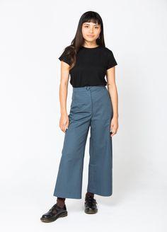 Wide leg pants sewin