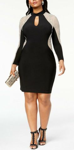 24 More Plus Size Sequin Dresses - Plus Size Holiday Party Dress - Plus Size  Fashion 02b54064fcfa
