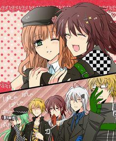 How cute hahaha 😂😂😂😂😂😂 - Gekiga Manga Cute Anime Boy, Anime Guys, Manga Anime, Hot Anime, Ikki Amnesia, Amnesia Characters, Amnesia Memories, Animes To Watch, Anime Couples Drawings