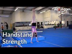 Gymnastics Handstand Drill with Barrel - YouTube