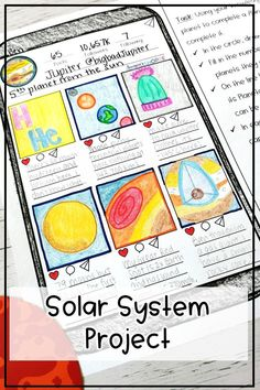 Solar System   Planets  Engage your grade 4, 5, 6 students in demonstrating their knowledge of the inner and outer planets using this fun activity. Assign this project digitally for remote learning and homeschool activity on planet and solar system. This research project is for mercury, venus, earth, mars, jupiter, saturn, uranus, and neptune #solarsystem #homeschool #planets Planets Activities, Earth Science Activities, Science Resources, Math Activities, Science Fun, Science Student, Middle School Science, Upper Elementary Resources, Elementary Science