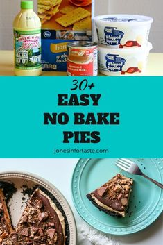 Choose from one of these amazing easy no bake pies to satisfy your sweet tooth that are perfect whether you want to make a pie just for yourself or to take to a potluck or party. New Dessert Recipe, Summer Dessert Recipes, Easy No Bake Desserts, Holiday Desserts, Chocolate Chip Cookie Pie, No Bake Chocolate Cheesecake, No Bake Pumpkin Cheesecake, Oreo Cream Pies, Lemon Chiffon Pie