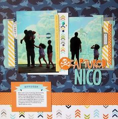 Bella Blvd Max Collection. Captured Nico layout by Guest Designer Nancy Damiano
