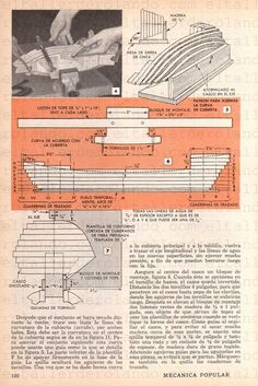 03 UN MODELO DEL CHEBEC ENERO 1959 003 copia Marble Machine, Model Ships, Sailing Ships, Diy And Crafts, How To Plan, Models, Sailboat Plans, Wood Boats, Canisters