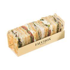 Un des grands classiques de la Maison : pain aux céréales garni de filet de dinde, œuf dur, tomates séchées, mesclun, fenouil confit et ciboulette. Fauchon