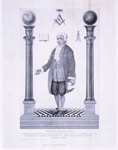 Brother Prince Hall [ca. 1735-1807]