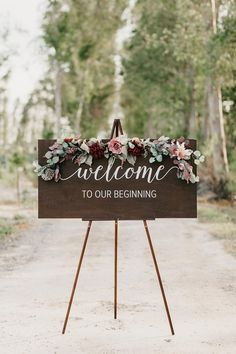 Cheap wedding ideas for a bride on a budget . - Cheap wedding ideas for a bride on a budget Cheap weddin : Cheap wedding ideas for a bride on a budget . - Cheap wedding ideas for a bride on a budget Cheap wedding ideas for a bride o - Rustic Wedding Signs, Wedding Welcome Signs, Wedding Country, Wedding Signage, Event Signage, Ceremony Backdrop, Wedding Ceremony, Gown Wedding, Wedding Rings