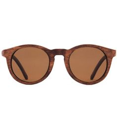 d871991532 Fairview Mahogany Brown FSC-Certified Sustainable Wood Sunglasses with  Polarized Lenses Mahogany Brown