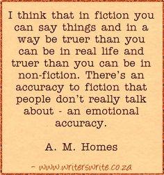 - A. M. Homes