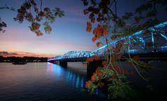 Trang Tien Bridge Night