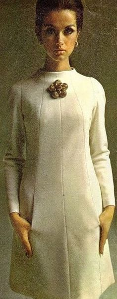 Model Veronica Hamel Simplicity Patterns,1966.