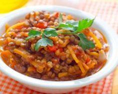 Dahl minceur de lentilles corail à réchauffer le lendemain : http://www.fourchette-et-bikini.fr/recettes/recettes-minceur/dahl-minceur-de-lentilles-corail-rechauffer-le-lendemain.html