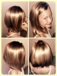 Fabulous Kid Straight Bob And Kid Hair On Pinterest Hairstyles For Women Draintrainus