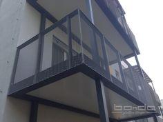 BALKONANBAU FRANKFURT, RENNRODER STRASSE - BONDA Balkon- und Glasbau GmbH