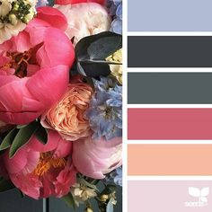 today's inspiration image for { flora dream } is by @fairynuffflowers ... thank you, Steph, for another *gorgeous* #SeedsColor image share!