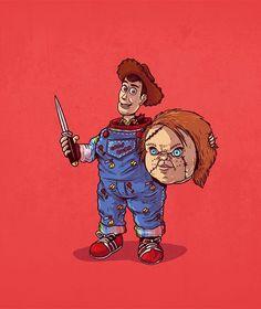 alexmdc Chucky Unmasked #iconsunmasked