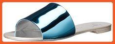 Giuseppe Zanotti Women's E60253 Dress Sandal, Shooting Azzurro, 7 M US - Sandals for women (*Amazon Partner-Link)