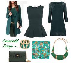 Emerald Envy via Hiking in Stilettos